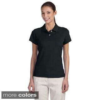 Adidas Women's ClimaLite Tour Pique Short Sleeve Polo