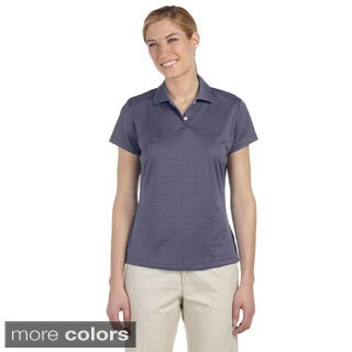 Adidas Women's ClimaLite Textured Short Sleeve Polo (5 options available)