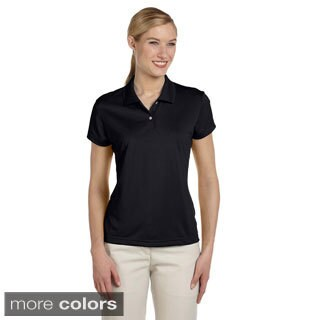 Adidas Women's ClimaLite Short Sleeve Pique Polo Shirt (More options available)