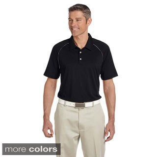 Adidas Men's ClimaLite Colorblock Piped Polo