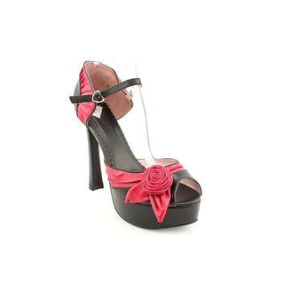T.U.K. Shoes Womens Platforms, Hot Rose Heels