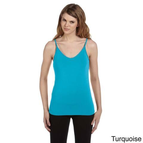 Women's Cotton/ Spandex Shelf Bra Tank