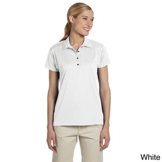 Women's Micro Pointelle Mesh Sport Polo Shirt (5 options available)