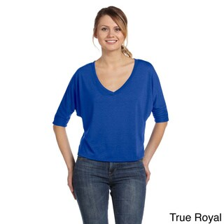 Women's Boxy Half-sleeve T-shirt (Option: Black)