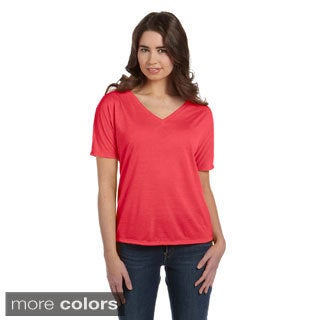 Women's Flowy V-neck T-shirt