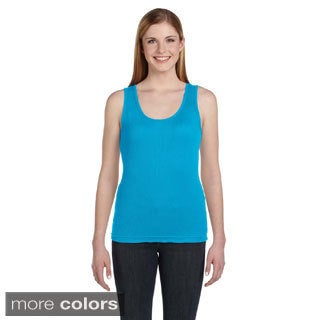 Women's Combed Ringspun Cotton 2x1 Rib Tank