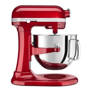 KitchenAid KSM7586PCA Candy Apple Red 7-quart Bowl Lift Stand Mixer