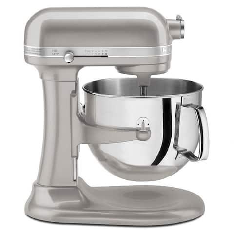 KitchenAid KSM7586PSR Sugar Pearl Silver 7-quart Bowl-Lift Stand Mixer