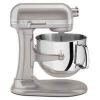 KitchenAid KSM7586PSR Sugar Pearl Silver 7-quart Bowl-Lift Stand Mixer