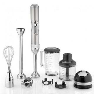 KitchenAid KHB3581SR Pro Line Series 5-Speed Sugar Pearl Silver Cordless Hand Blender