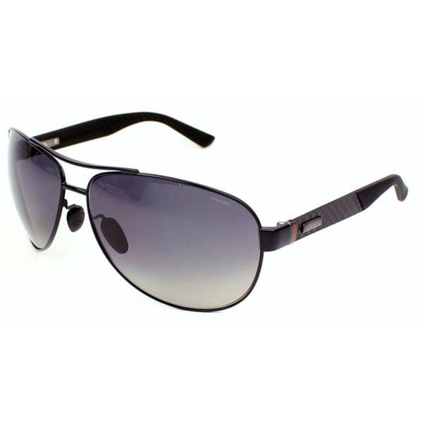 d148bbdffb Shop Gucci Men s GG 2246 S 4VHWJ Polarized Aviator Sunglasses - Free ...