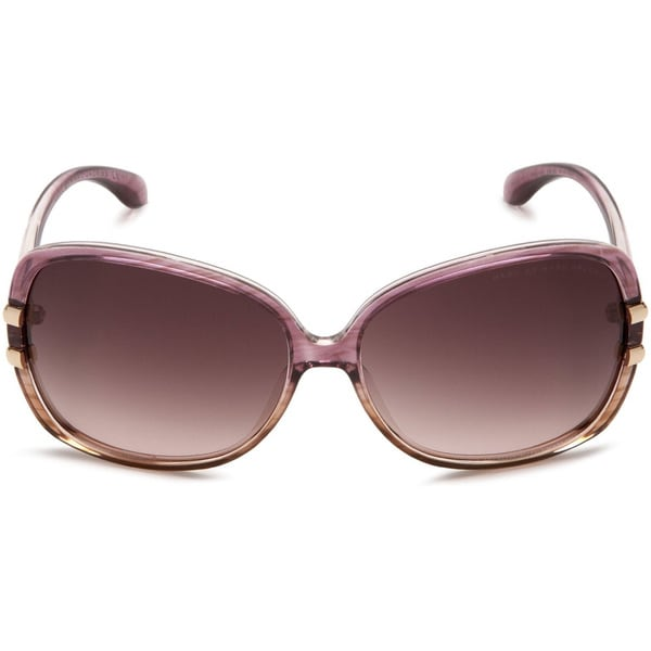 de5ca497464f Shop Marc by Marc Jacobs Women s  MMJ 216 S  Grey Beige  Brown Gradient Oval  Sunglasses - Beige - Free Shipping Today - Overstock - 9036518