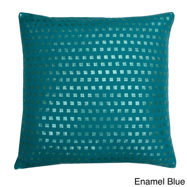 Mila Sequin 20x20-inch Throw Pillow