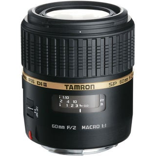 Tamron SP AF 60mm f/2 DI II LD IF 1:1 Macro Lens For Minolta Maxxum and Sony DSLR Cameras