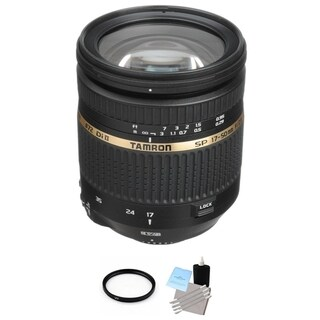 Tamron SP AF 17-50mm f2.8 XR Di II VC LD Aspherical IF Lens for Nikon Bundle