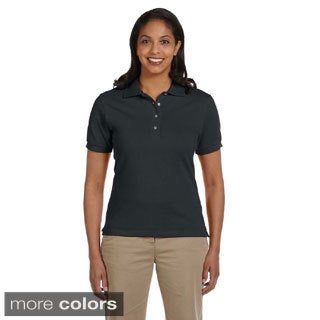 Jerzee's Women's Ringspun Cotton Pique Polo