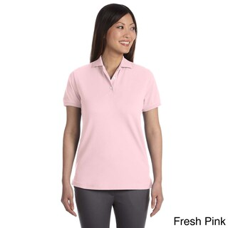 Izod Women's Original Silk-wash Pique Polo Shirt (2 options available)