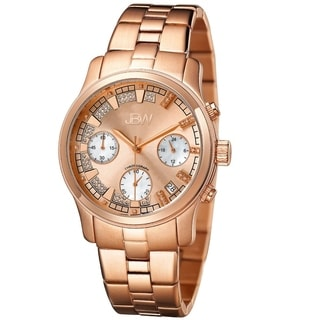 JBW Women's 'Alessandra' Rose Goldtone Diamond Watch