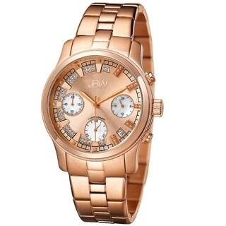 JBW Women's 'Alessandra' Rose Goldtone Diamond Watch