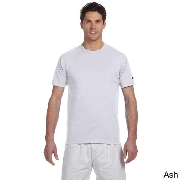 Champion Men's Tagless Crew Neck T-shirt. Opens flyout.