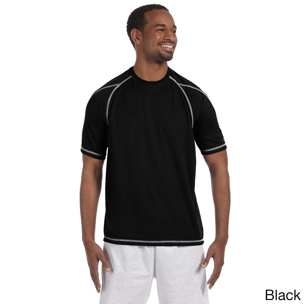 Champion Men's Double Dry T-shirt with Odor Resistance (3...