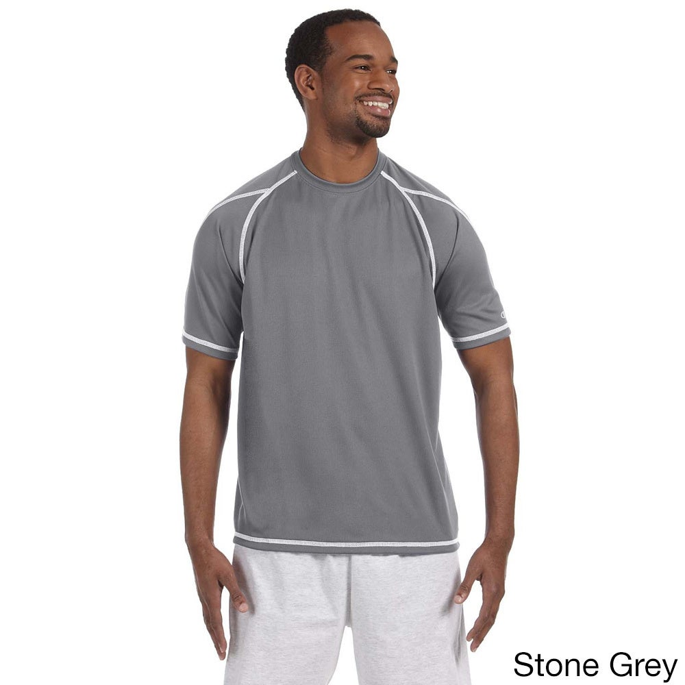 Champion Men's Double Dry T-shirt with Odor Resistance (L...