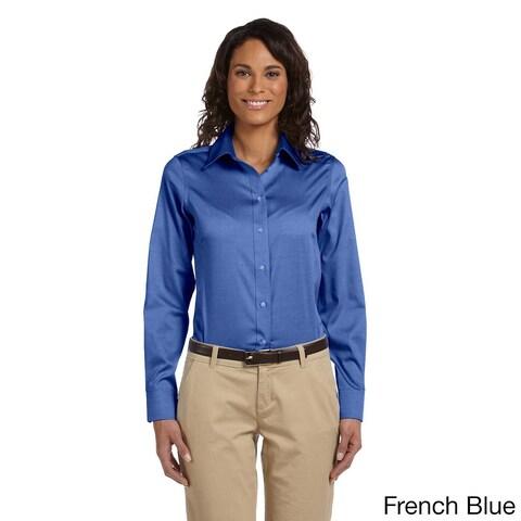 Women's Executive Performance Pinpoint Oxford Shirt