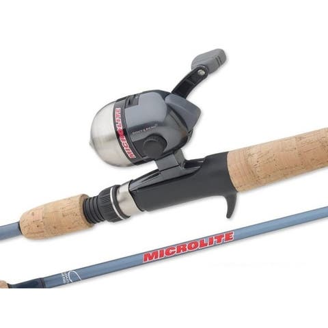 South Bend Stainless Steel Microlite Spincast Combo