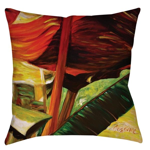 Banana Duo II 19-inch Indoor/ Outdoor Throw Pillow