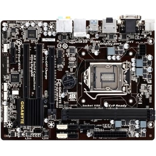 Gigabyte Ultra Durable 4 Plus GA-H81M-HD3 Desktop Motherboard - Intel