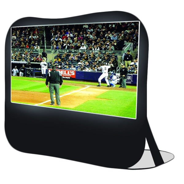 Sima 84 inch pop up screen free shipping today for Miroir 50in projector review