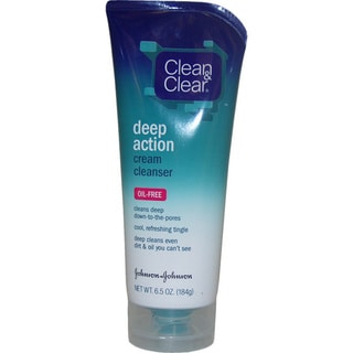 Clean & Clear Oil Free Deep Action Cream 6.5-ounce Cleanser