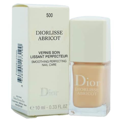 Dior Diorlisse Abricot Smoothing Perfecting # 500 Pink Petal Nail Polish