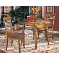Signature Design by Ashley Berringer Round Drop Leaf Table