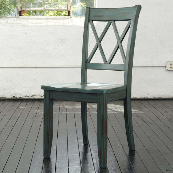 Signature Design by Ashley Mestler Antique Dining Room Dining Chair (Set of 2)