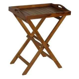 Bare Decor Teak Indoor/ Outdoor Tray Table