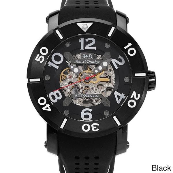 Marcel Drucker Men's Stainless Steel Watch