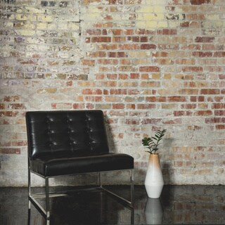 Brooklyn Black Leather Lounger