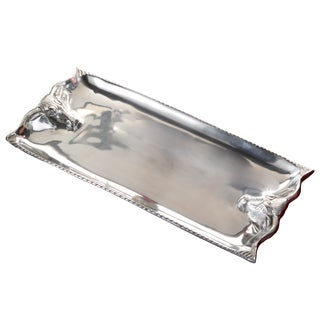 20-inch Cast Aluminum Steer Head Tray