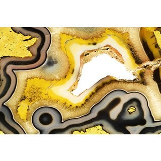 Marmont Hill Art Collective 'Hematite River' Canvas Art
