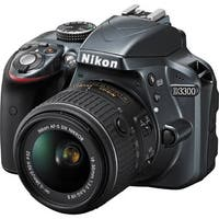 Nikon D3300 24.2 MP Digital SLR Camera with 18-55mm Lens