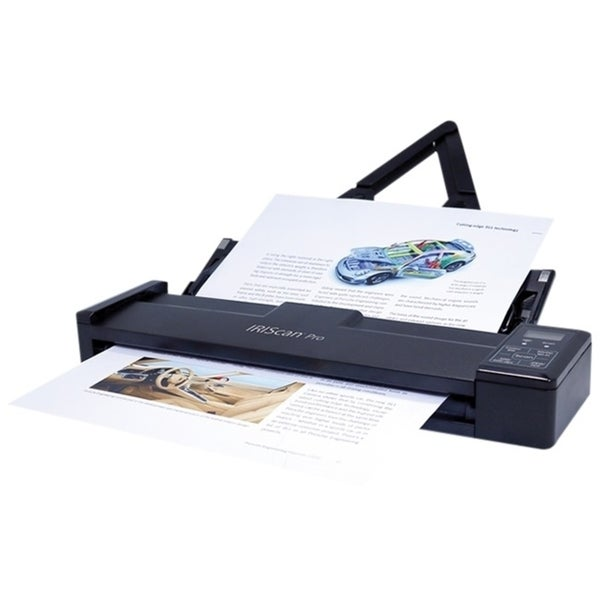 IRIS IRIScan Pro 3 Wifi Cordless Sheetfed Scanner - 600 dpi Optical