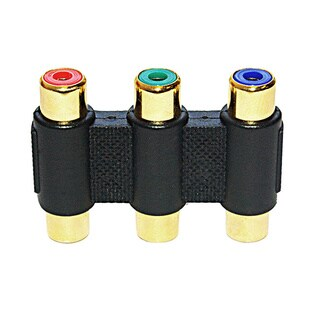 Offex RGB F/F RCA Component Cable Coupler