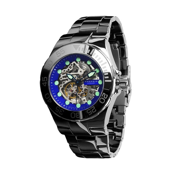 android s hercules tungsten skeleton blue