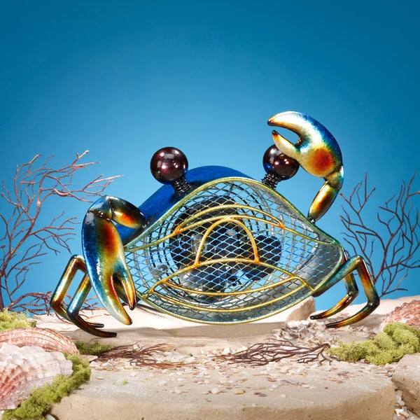 Shop Blue Crab Figurine Fan Free Shipping Today