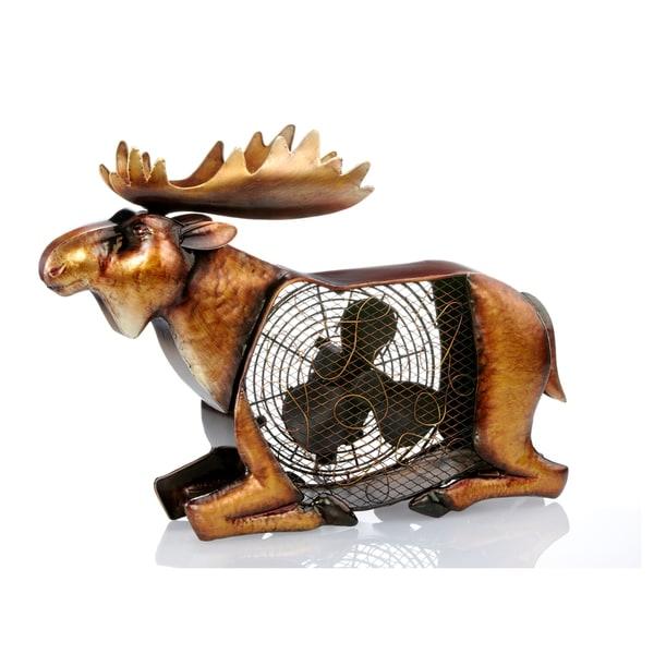Moose Figurine Fan