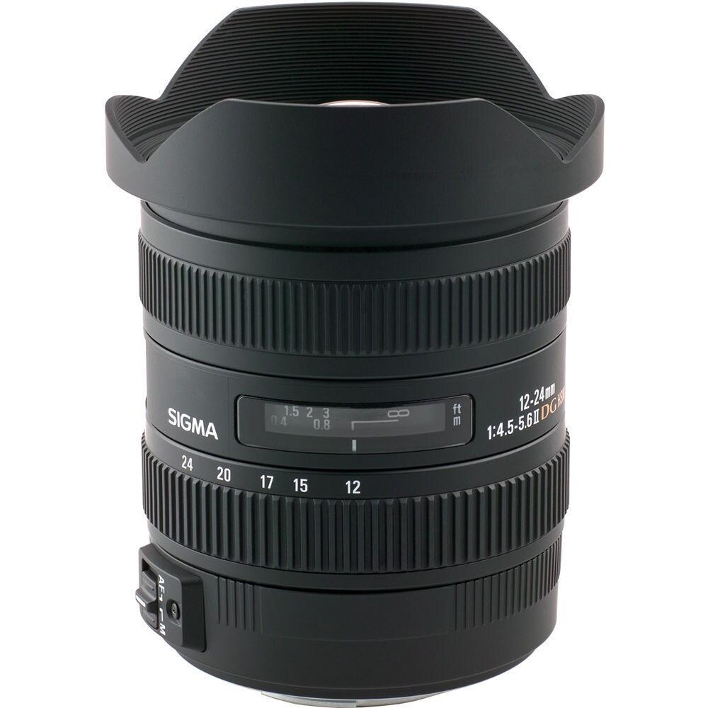 Sigma 12-24mm f/4.5-5.6 EX DG Aspherical HSM II Lens For ...