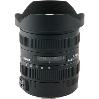 Sigma 12-24mm f/4.5-5.6 EX DG Aspherical HSM II Lens For Nikon