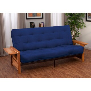 Bellevue with Retractable Tables Transitional style Queen size Inner Spring Futon Sofa Sleeper