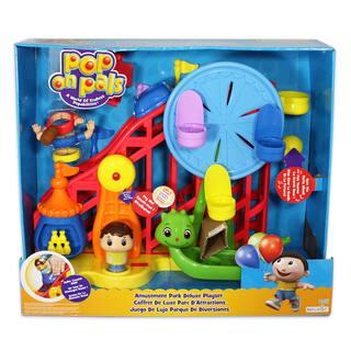 Pop On Pals Boy's Amusement Park Playset|https://ak1.ostkcdn.com/images/products/9043054/Pop-On-Pals-Boys-Amusement-Park-Playset-P16240767.jpg?impolicy=medium